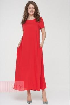 Платье 191-3486 доблестный мак