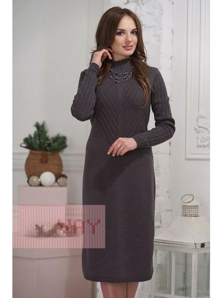 Платье 2280 графит