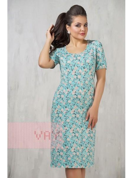Платье 3271 сакура/ментол
