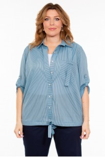 Блузка Онда (голубой)