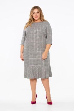 Платье Айрис (серый)