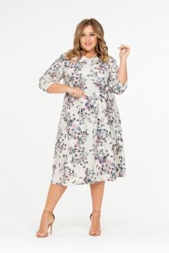Платье Алирио (молочный)