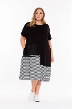 Платье Алексис (черный)