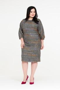 Платье Долли (серый)
