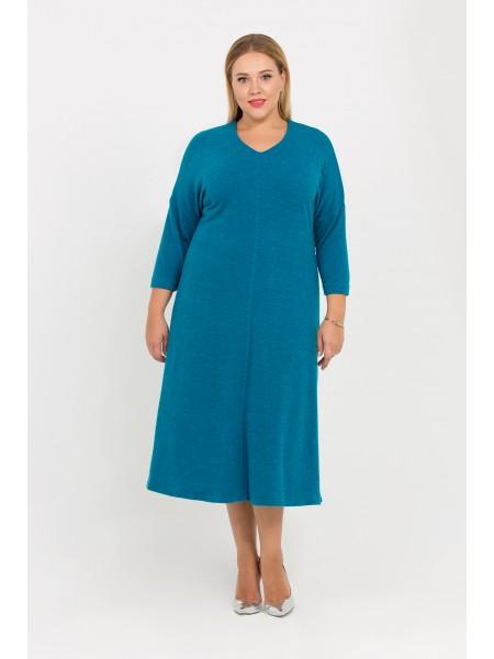 Платье Ева (синий)