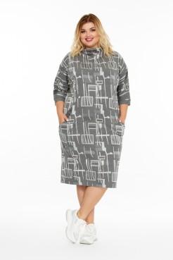 Платье Иоланда (серый)