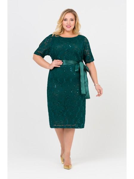Платье Марсан (изумрудный)