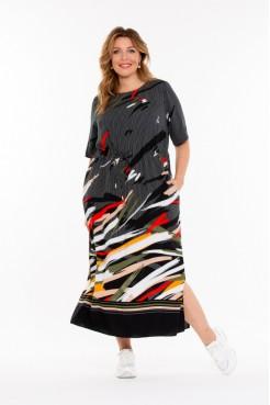 Платье Нанса (черный)