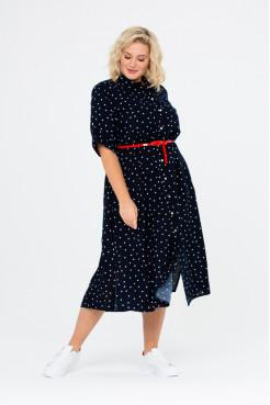 Платье Натэлла 2 (темно-синий)