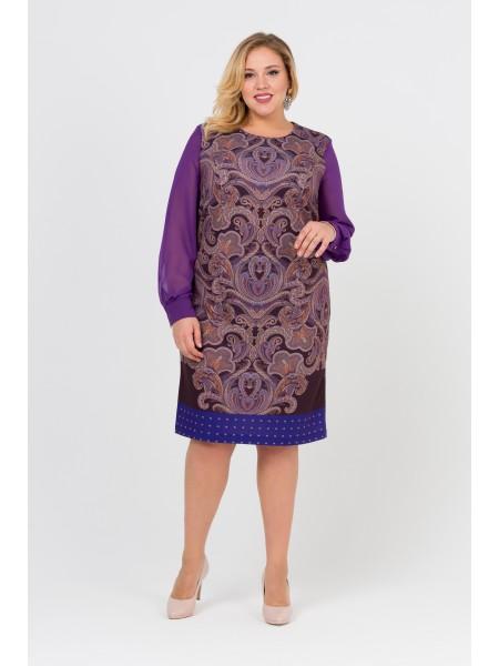 Платье Одри (фиолетовый)