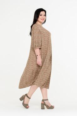 Платье Пава (бежевый)