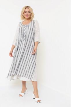 Платье Пелагея серый