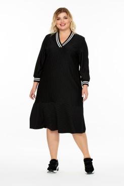 Платье Стилисимо (черный)
