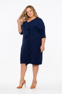 Платье Сюзанна (темно синий)