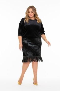 Платье Вамп (черный)