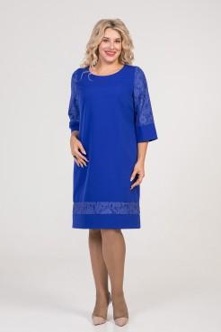Платье 1001 синий