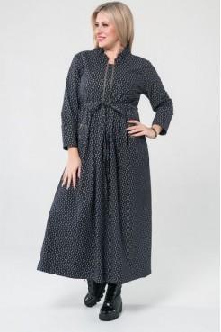 Платье 1030 темно синий