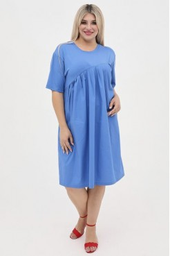 Платье 1063 синий