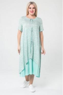Платье 1075 (светло зеленый)