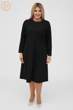 Платье 1101 черный