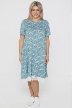 Платье 1104 голубой