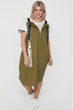 Платье 1108 зеленый