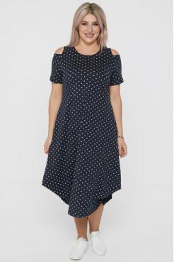 Платье 1109 темно синий