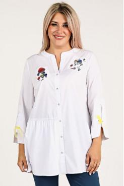 Рубашка 1121 белый