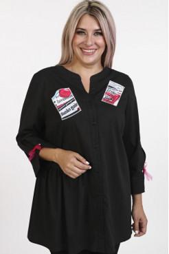 Рубашка 1121 черный