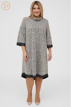 Платье 1145 бежевый