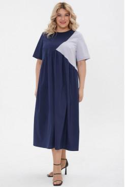 Платье 1193 синий