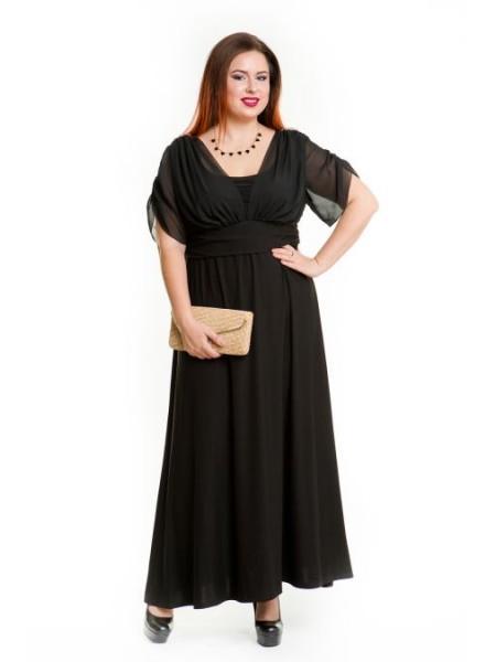 Платье 476 черный
