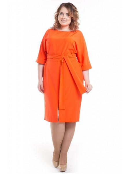 Платье 509 (оранжевый)