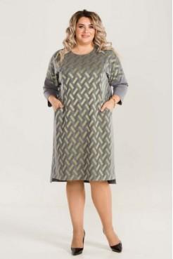 Платье 768 (серый)