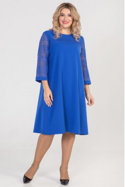 Платье 801 (синий)