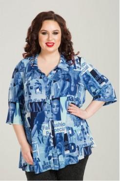 Рубашка 818 (синий)