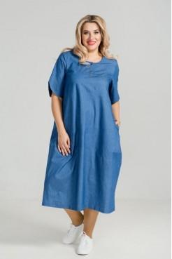 Платье 876 (синий)