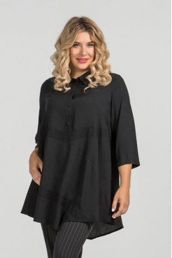 Блузка 914 черный
