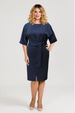 Платье 938 темно синий