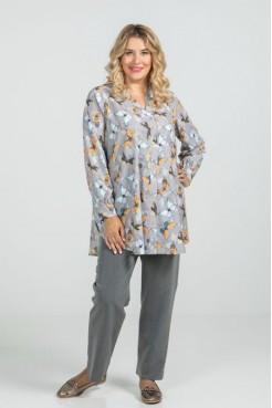Рубашка 943 (бежевый)