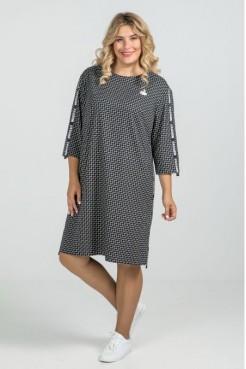 Платье 967 (темно синий)