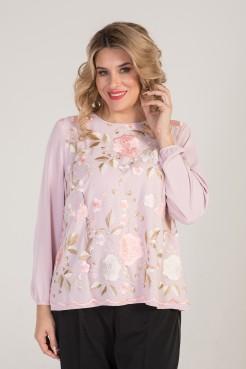 Блузка 995 (розовый)
