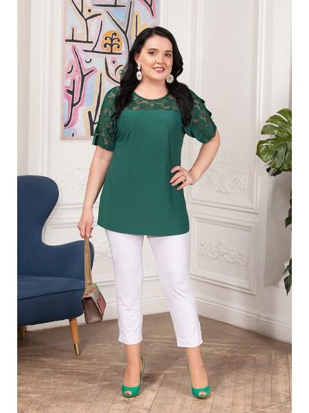 Блузка Арина (зеленый)