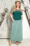 Блузка Мишель (зеленый)