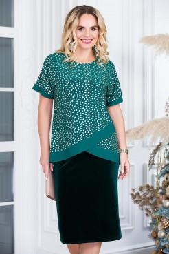 Блузка Оливия (зеленый)