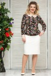 Блузка Шанель (черный)