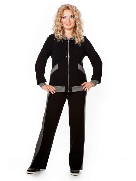 Спортивный костюм Аврора (черный)
