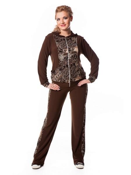 Спортивный костюм Лавира (шоколад)