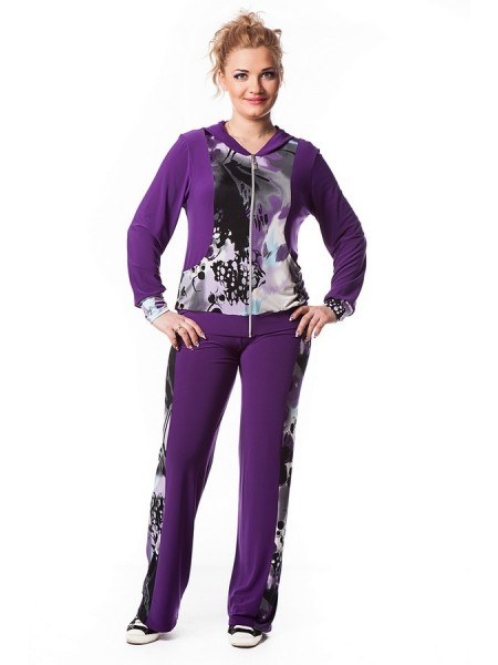 Спортивный костюм Лавира (фиолетовый)