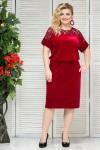 Платье Анжелика (бордо)